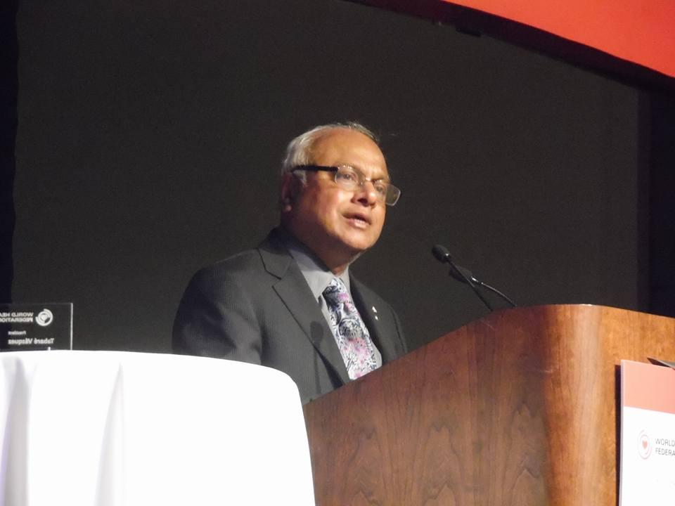 President Salim Yusuf, MD